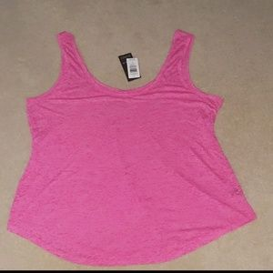 Nwt torrid active pink strap top